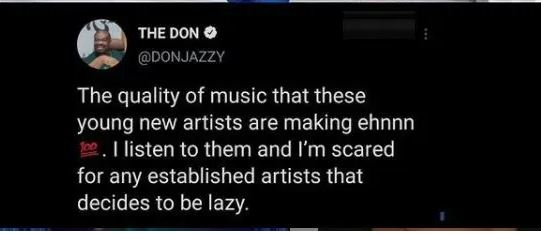 Don Jazzy post