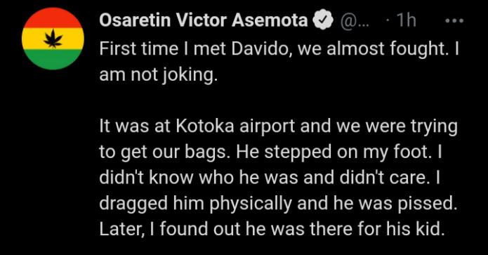 Victor asemota post