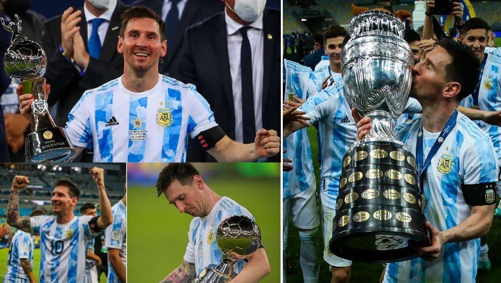 Messi wins Copa America.