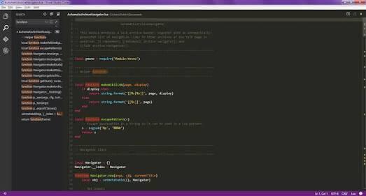 visual code studio - 10 best code editors for programming in 2017
