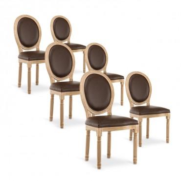 lot de chaises design pas cher salle a