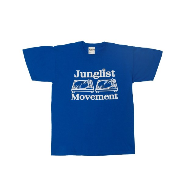 Intense Records | Buy Royal Blue - Extra Large - Junglist ...