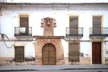 Fachada de la casa de Don Cristóbal de la Torre
