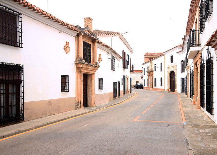 Calle de Enrique Arce.