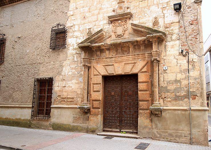 Fachada de la casa de los Pacheco.
