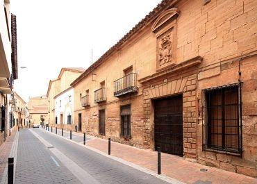 Fachada de la casa de los Romero Alarcón.