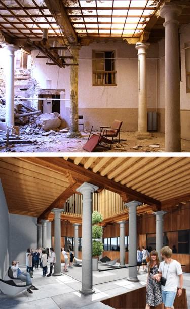 Rehabilitación de un edificio del siglo XVI en Albacete.