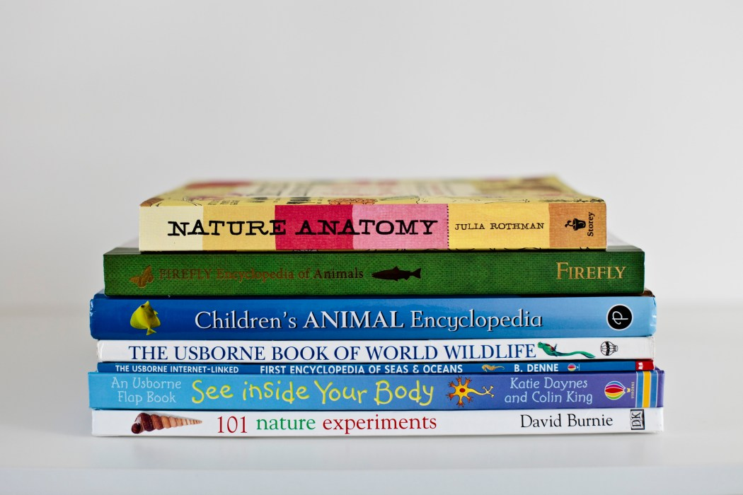 Our practically free homeschool grade one science curriculum and book list!