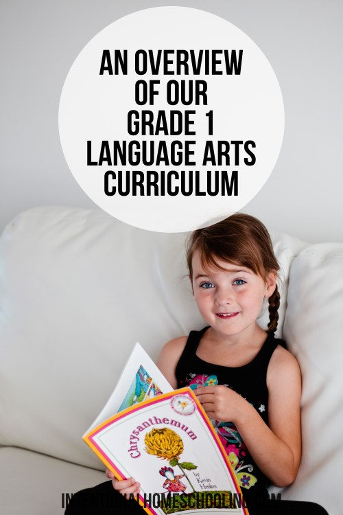 Our Free Homeschool Grade 1 Language Arts Curriculum - lots of reading and a bit of writing.