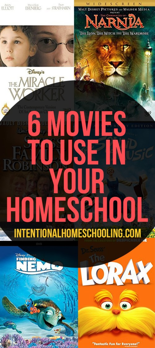 Using Movies in Your Homeschool and Six Good Movies to Get You Started