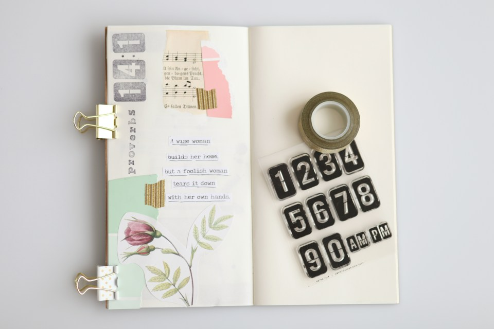 Memory Verse Art Journaling - Homeschool Bible Verse Memory System