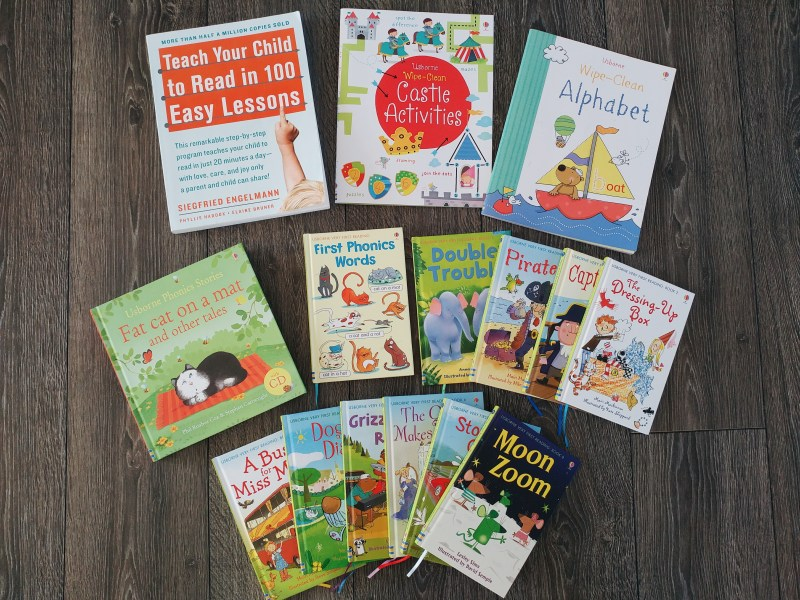 Our Daily Homeschool Resources - our most used preschool books