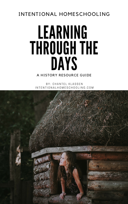 Learning Through the Days: a digital resource guide for learning about history with kids