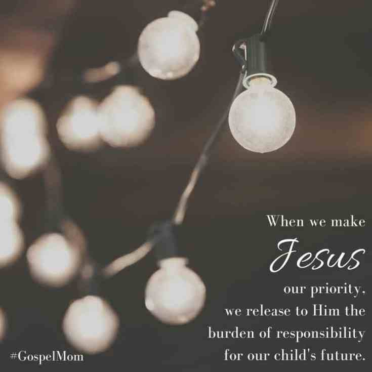 Being a Gospel-centered mom is key if we want to succeed in our motherhood journey. So come on by and read my thoughts on living a Gospel-centered life.