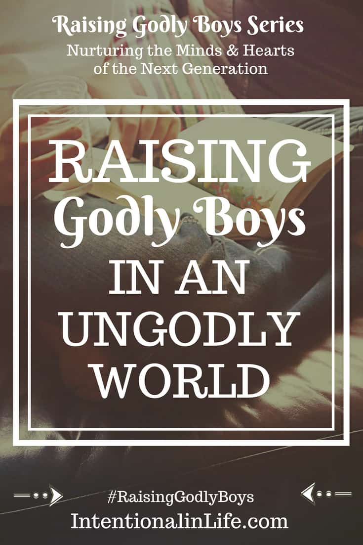 Are You a Mom Trying to Raise Godly Boys in an Ungodly world? If so, you are not alone. Parenting boys ishard work, but parenting and trying to raise godly boys is not just hard work but its HEART work. I have found that in order to be successful in raising godly boys we need to be intentional in our parenting.