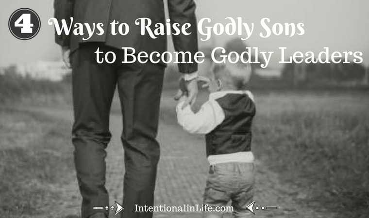 As parents, we understand that it is no easy feat to raise Godly sons. There is so much pressure on them everywhere they go to be something other than what God created them to be. As parents, we can take action to by embracing 4 steps that will help us to raise Godly sons.