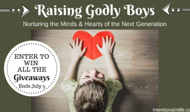 Raising Godly Boys Giveaway