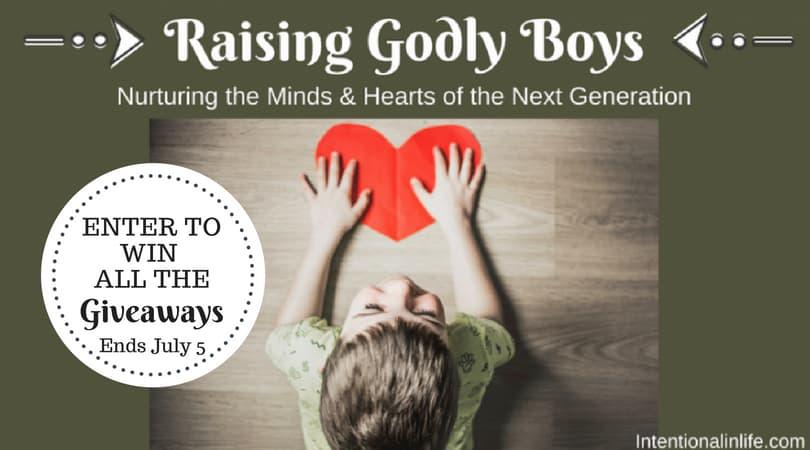 Raising Godly Boys Giveaway