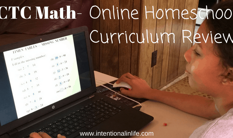We have two little ones in tow so having my oldest do his lessons on his own would be ideal. Anyone that has little ones at home knows how challenging it can be to homeschool your older children while keeping up with the younger ones. That's when CTC Math entered the picture. #CTCMath #MathOnline #HomeschoolMath #HomeschoolMathOnline