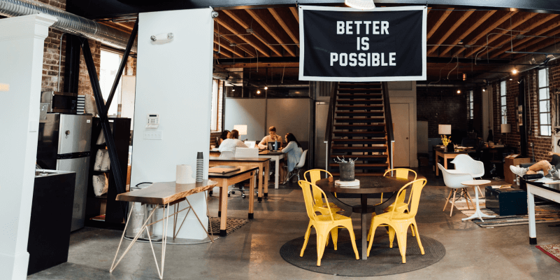 creative co-working space
