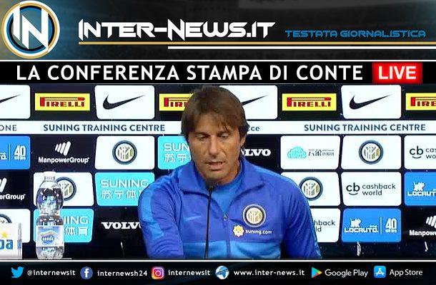 Conte LIVE at a press conference