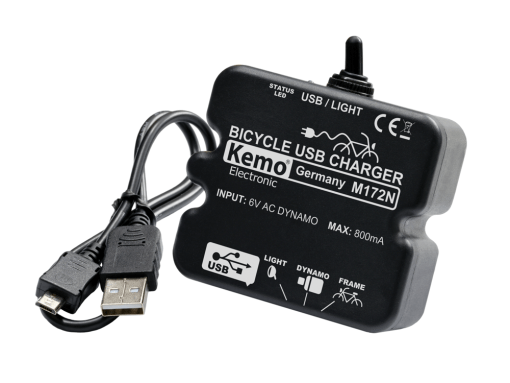 Bicycle Power Charge Controller USB