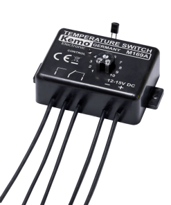 Temperature switch-thermostat 12 V/DC