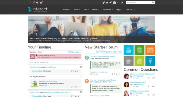 What is an Intranet?   Interact software