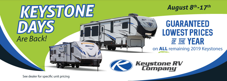 Keystone Days Sales Event