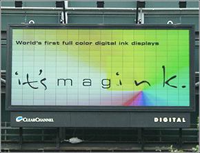 Magink Display