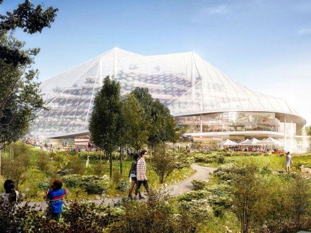 Google Headquarters by Bjarke Ingels and Thomas Heatherwick