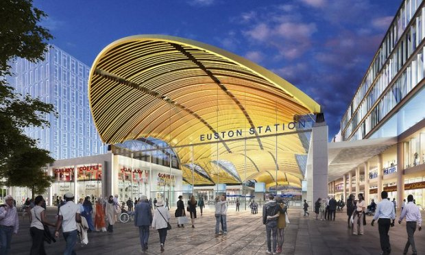 Grimshaw Architects 2015 Design for the new entrance to Euston station