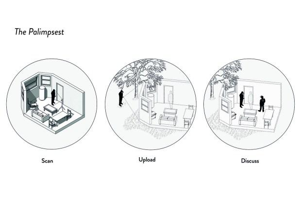The palimpsest diagram scanning 4