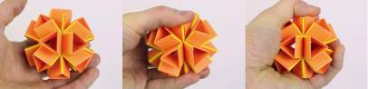 (O) A three-dimensional actuated origami-inspiredtransformable metamaterial with multiple degreesof freedom-2