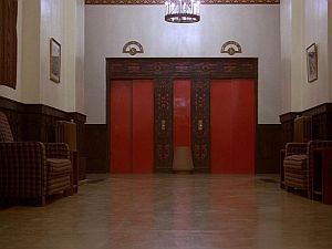 "Fig .12 Scene from the movie ""The Shining"""
