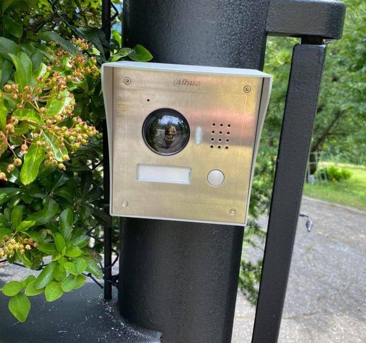 Installation interphone DAHUA IP POE à Saint-Baldoph en Savoie