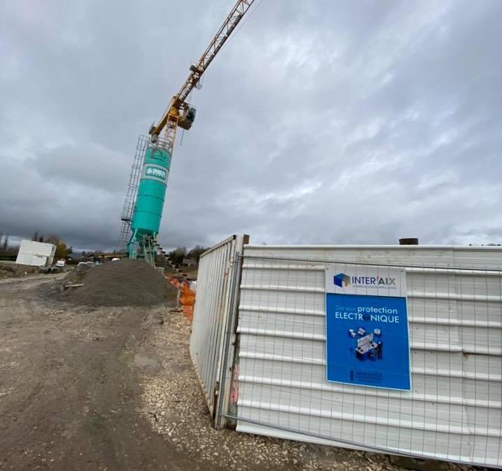 Protection de chantier à La-Balme-De-Sillingy en Haute-Savoie