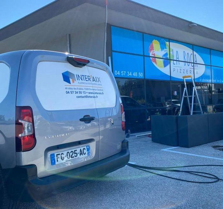 Installation électrique pour distributeur de pizzas à Drumettaz-Clarafond en Savoie