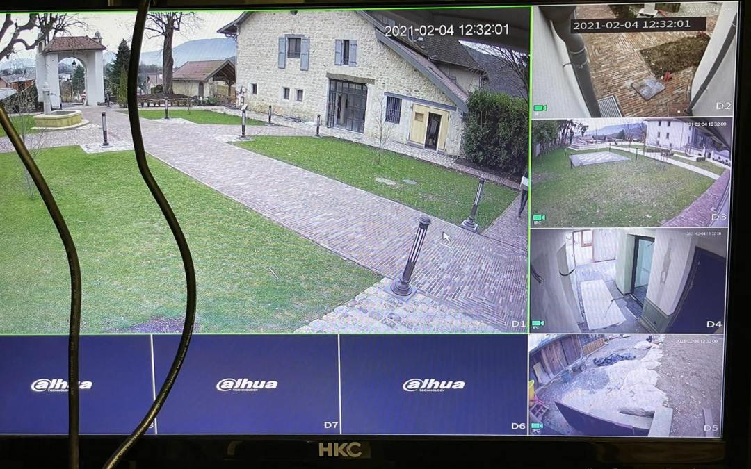 Finalisation vidéosurveillance à Grésy-sur-Aix