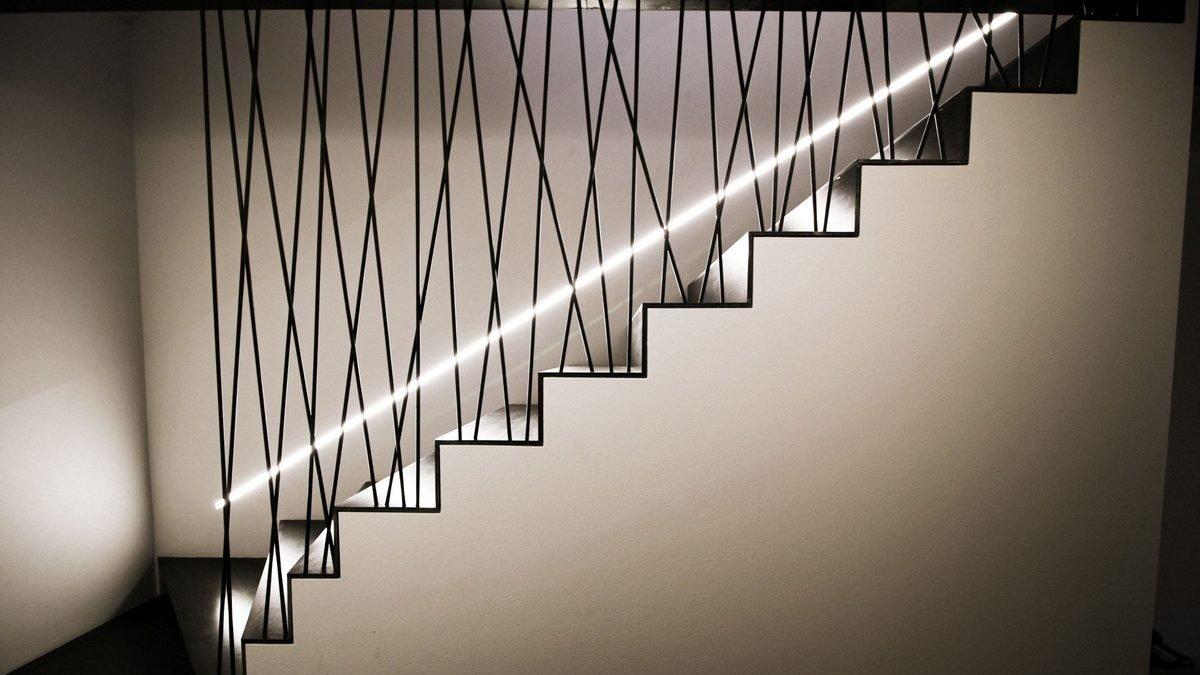 scala di design per abitazione privata