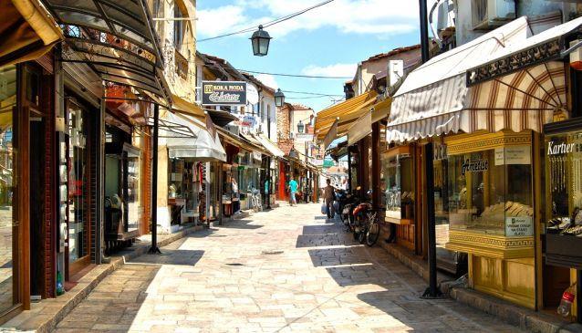 Üsküp Türk Çarşısı - Interbus Tur