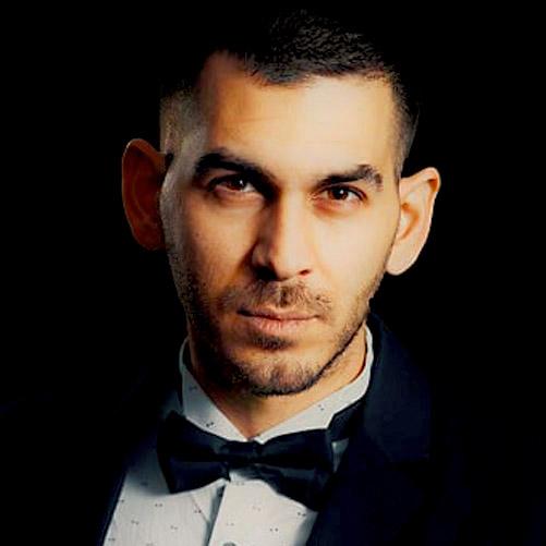 InterContinental Music Awards music judge, sotiris chrysanthou, portrait