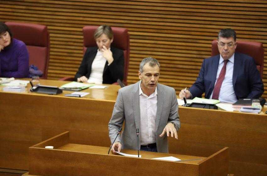 """Cantó a Puig: """"Dé un golpe encima de la mesa y evite que Sánchez regale el dinero de los valencianos a los golpistas"""""""