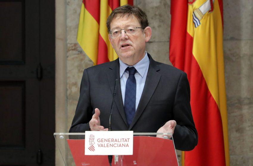 """Ximo Puig: """"Durante la pandemia se ha avanzado en la mirada federal: la realidad de España es diversa, plural y exige cogobernanza"""""""