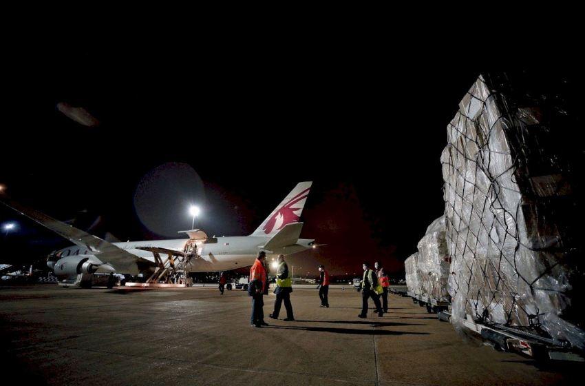Un décimo avión con material sanitario llegará esta tarde a Valencia