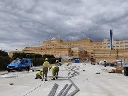 Bravo anuncia que las obras de la estructura de los hospitales de campaña concluirán este fin de semana