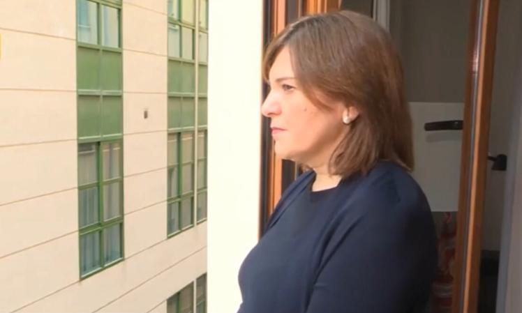 Isabel Bonig ha guardado tres minutos de silencio en memoria de los fallecidos por el COVID-19