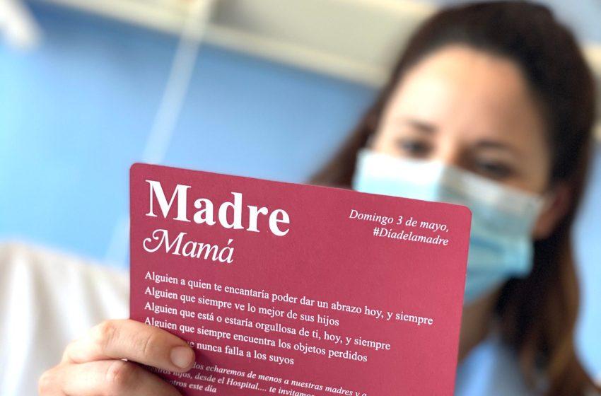 """Ribera salud traslada un mensaje con motivo del día de la madre: """"Aunque no te pueda abrazar quiero que sepas que hoy y siempre estoy muy orgullosa de ti"""""""