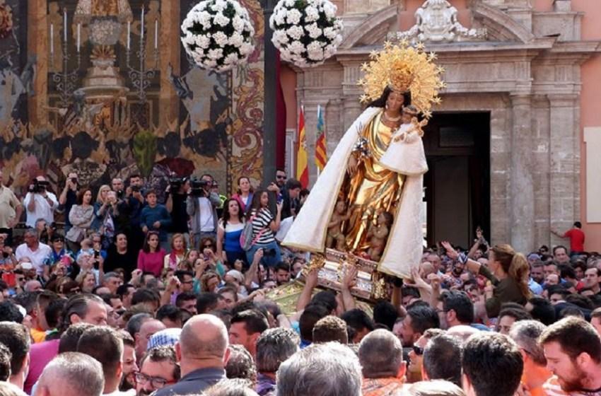 La ciudad de Valencia no celebra el día de la Virgen de los Desamparados por la crisis del coronavirus