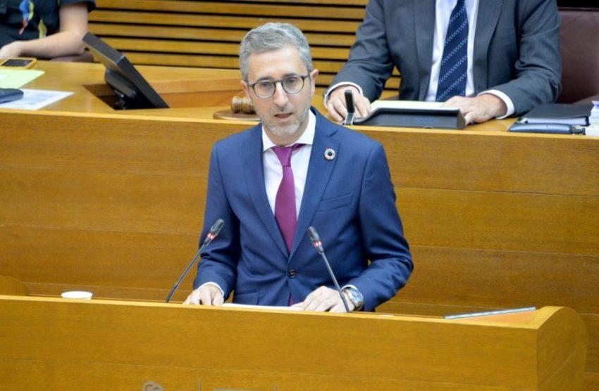 """Arcadi España, conseller de Política Territorial, Obras Públicas y Movilidad: """"La ciudadanía no nos va a juzgar por cuánto reivindiquemos, sino por la gestión que hagamos"""""""